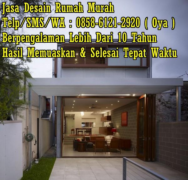 Desain Rumah Minimalis Harga Murah  terjual desain rumah murah bandung